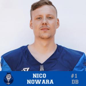 #01 Nico Nowara DB