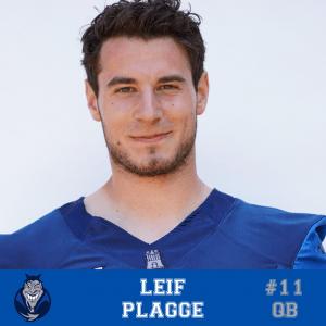 #11 Leif Plagge QB