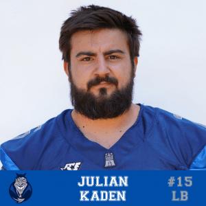 #15 Julian Kaden LB