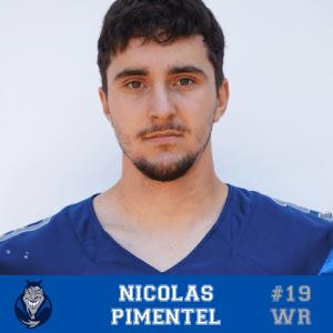 #19 Nicolas Pimentel WR