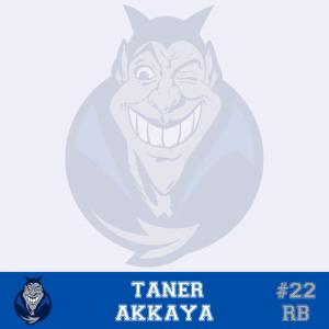 #22 Taner Akkaya RB