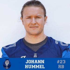 #23 Johann Hummel RB