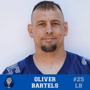 #25 Oliver Bartels LB