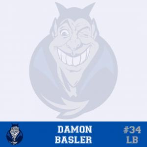#34 Damon Basler LB