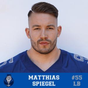 #55 Matthias Spiegel LB