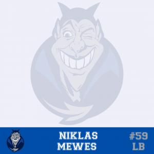 #59 Niklas Mewes LB