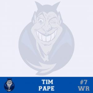 #7 Tim Pape WR