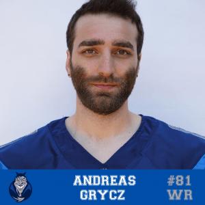 #81 Andreas Grycz WR