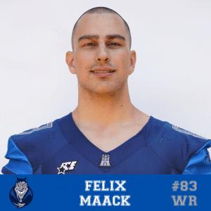 #83 Felix Maack WR