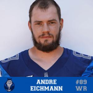 #89 Andre Eichmann WR