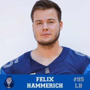 #95 Felix Hammerich LB