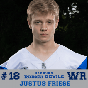 HRD #18 Justus Firese WR