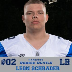 HRD #2 Leon Schrader LB