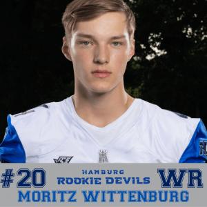 HRD #20 Moritz Wittenburg WR