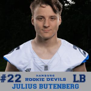 HRD #22 Julius Butenberg LB