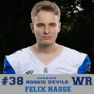 HRD #38 Felix Hasse WR