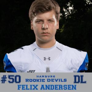 HRD #50 Felix Andersen DL