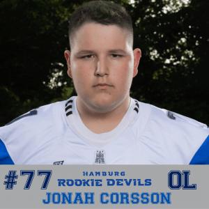 HRD #77 Jonah Corsson OL