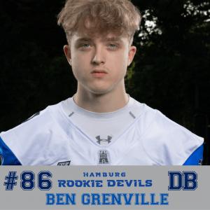 HRD #86 Ben Grenville DB