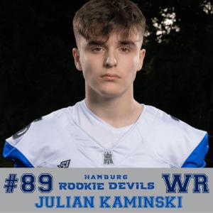 HRD #89 Julian Kaminski WR