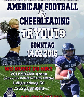 Try Outs des Hamburg Blue Devils e.V.