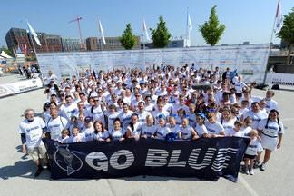 HSH Nordbank Run für spontan Entschlossene mit dem Blue Family Team