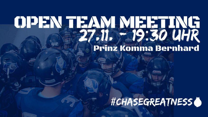 Open Team Meeting